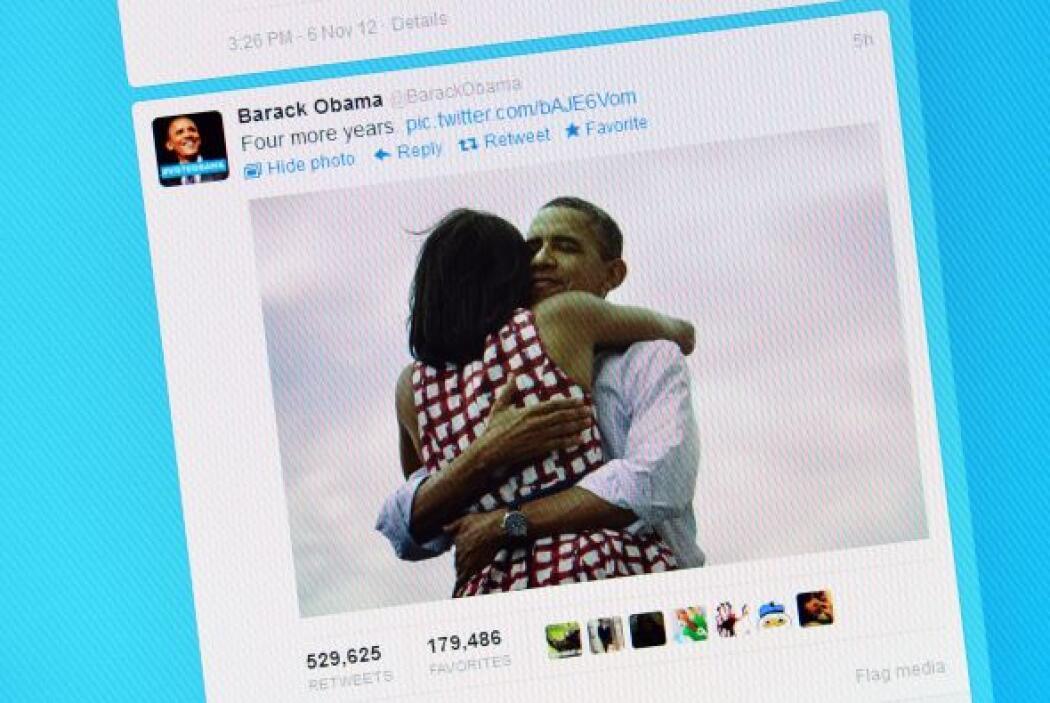 #1.  Barack Obama (@BarackObama). Con 24 millones de seguidores, 15 mill...