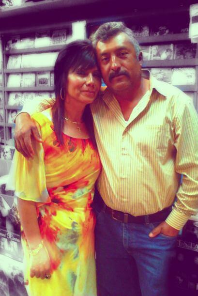 Diana Ramírez nos envió esta bonita foto de sus padres, Ma...