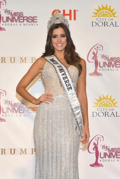 La nueva Miss Universo ya se encuentra en Nueva York, comenzando con las...