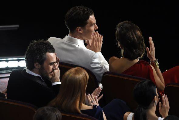 Benedict Cumberbatch con los nervios a flor de piel.