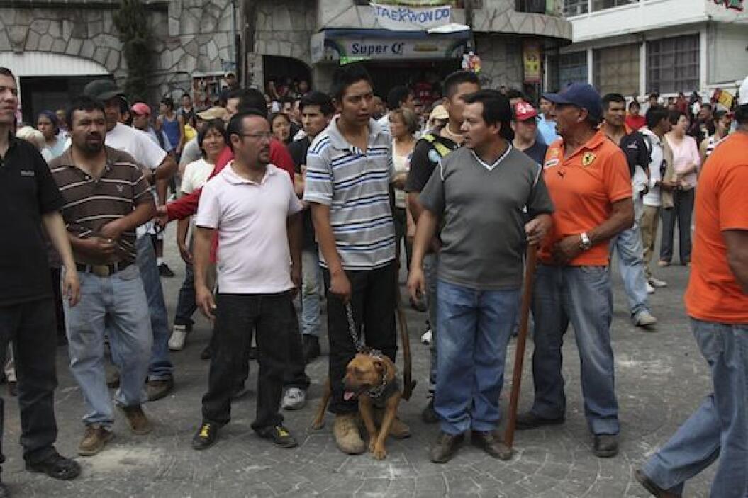 Este fue el día que incitó a la violencia en el municipio de San Bartolo...