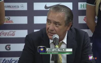 José Luis Trejo: ''Pumas aún puede aspirar a pelear por el título''
