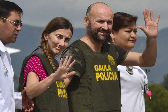 Una pareja española fue rescatada en una acción de la poli...