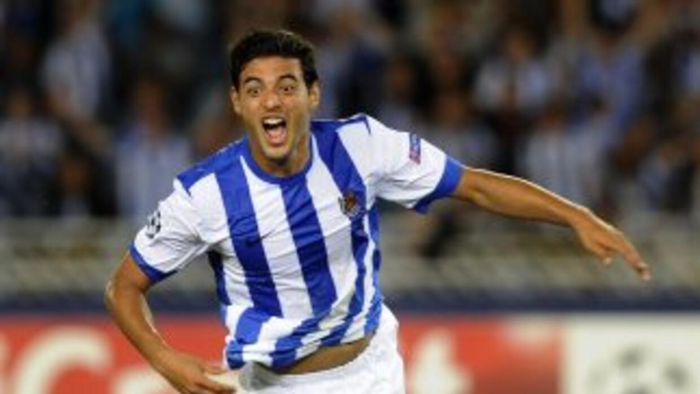 Carlos Vela llegó a 10 goles en esta liga.