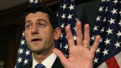 Paul Ryan, presidente de la Cámara de Representantes, destacó las enmien...