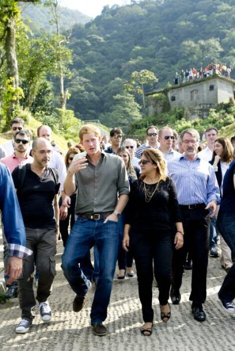 También visitó la selva Atlantic, donde aprendió la importancia de la re...