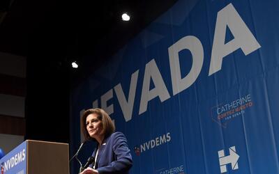 Catherine Cortez Masto, primera hispana en llegar al Senado de EEUU