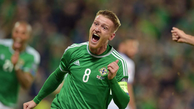 Irlanda del Norte se clasificó a la Eurocopa.