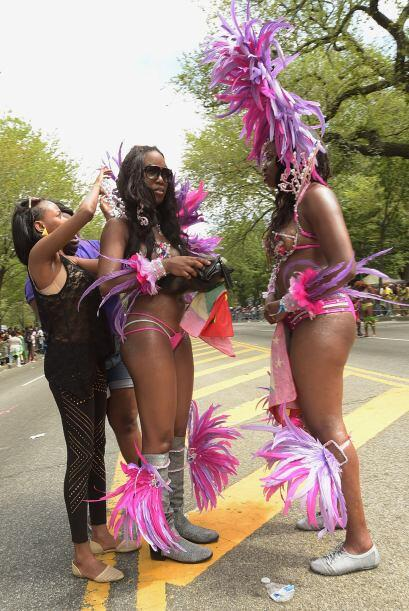 Las calles de Nueva York se llenaron de colorido. Cientos de personas re...