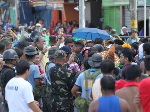 El tifón Haiyan, uno de los más fuertes de la historia de...