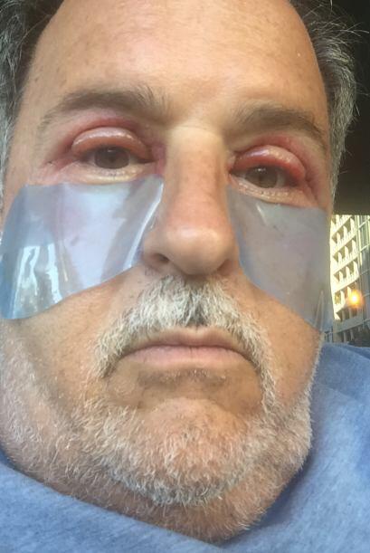 Los cuidados fueron cruciales para la recuperación del conductor. Raúl a...