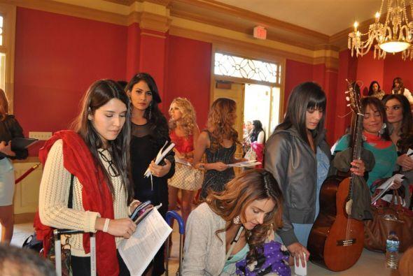 Los talentos de las chicas fueron bailar, cantar, actuar y hasta cocinar.