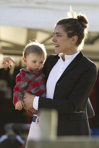Carlota disfrutó mucho del evento, pero sobre todo de la compañía que tuvo.