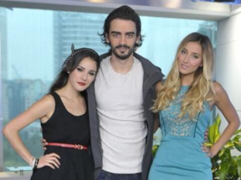 Okayri Giner, Diego Amonzurrutia y Sofía Sisniega de la serie 'Go...