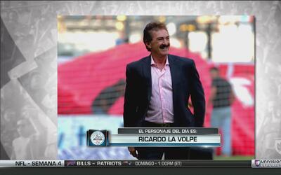 Ricardo La Volpe fue el personaje del Acertijo Frío de Fanáticos del Frío