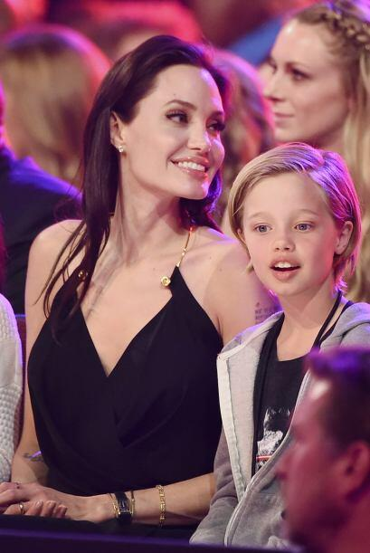 Angelina fue la villana favorita de los pequeños.