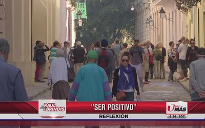 Reflexión: Ser positivo