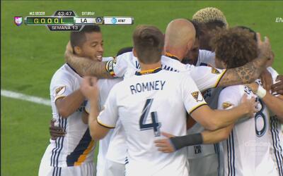 Bernardez marca en propia puerta y LA Galaxy se pone 3-2