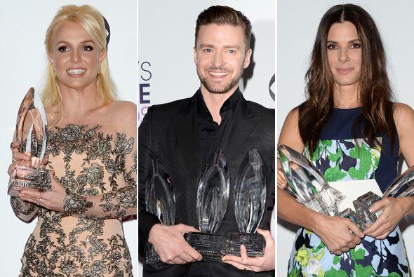 Muchas estrellas y sorpresas en la entrega a las películas, serie...