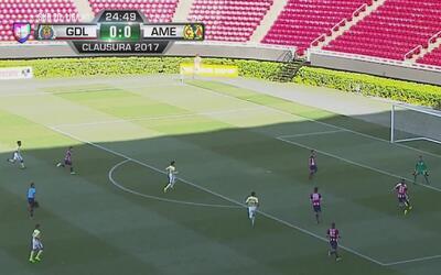 ¡Antonio Torres salva a las Chivas!