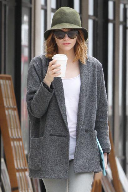 Emma Stone también se ha consagrado como una de las grandes bellezas de...