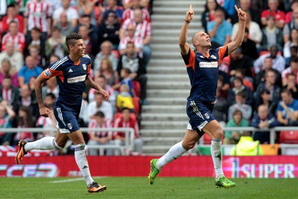 Fulham se llevó los tres puntos de la cancha del Sunderland con la victo...