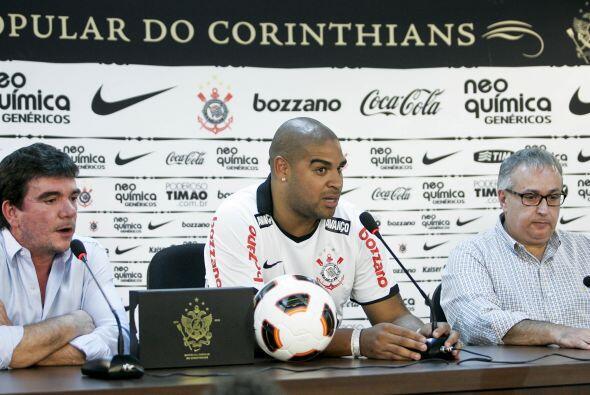 Todo indica que Adriano debutará oficialmente en el Campeonato Brasileño...