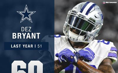 #60: Dez Bryant (WR, Cowboys) | Top 100 Jugadores 2017