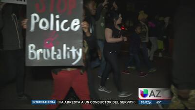 Continúan manifestaciones contra abuso policíaco