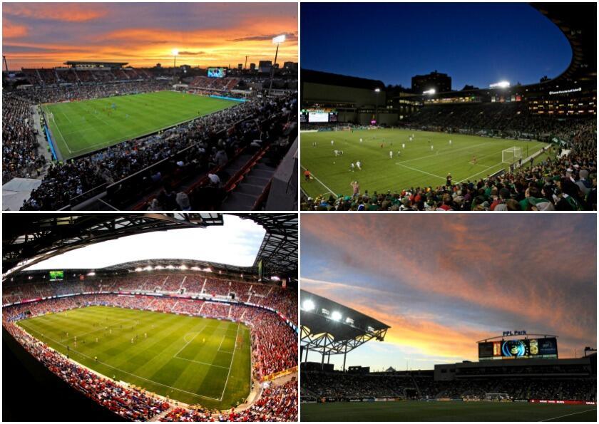 Te presentamos los estadios de la MLS. Para esta temporada son 15 los es...