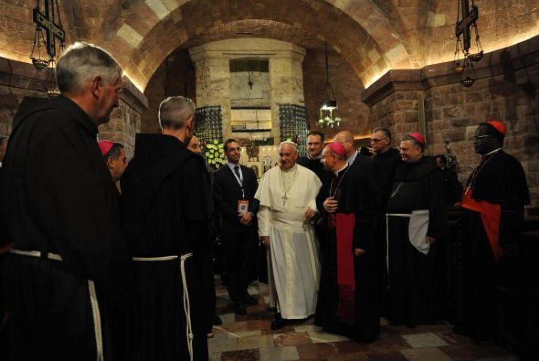 Tras su elección el 13 de marzo, luego de la renuncia de Benedicto XVI,...