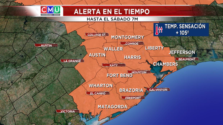 Activan Plan De Emergencia Por Ola De Calor En Houston