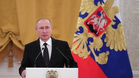 Vladmir Putin, presidente de la Federación Rusa.