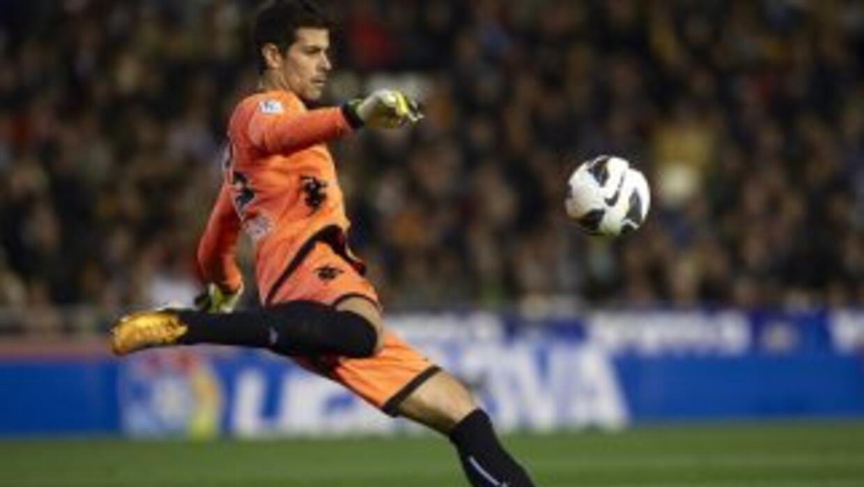 Dani Hernández, portero del Valladolid.