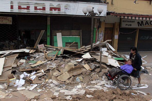 En los últimos doce meses hubo en la zona afectada 1,120 sismos, que se...