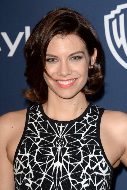 Lauren en una fiesta tras los Golden Globes, en enero de 2014. Mira aquí...