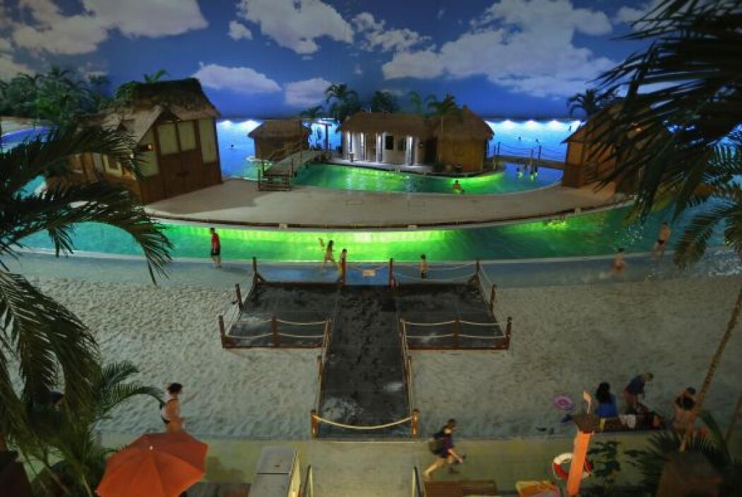 Pues es el lugar perfecto para disfrutar de la playa o darse un chapuzón...