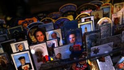 Víctimas de los atentados terroristas del 11 de septiembre de 2001.