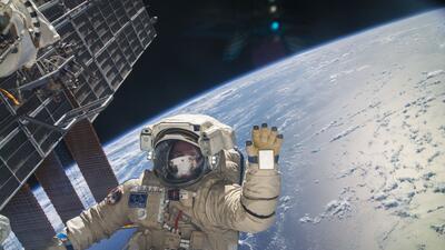Felicidades a Gravity desde la Estación Espacial Internacional
