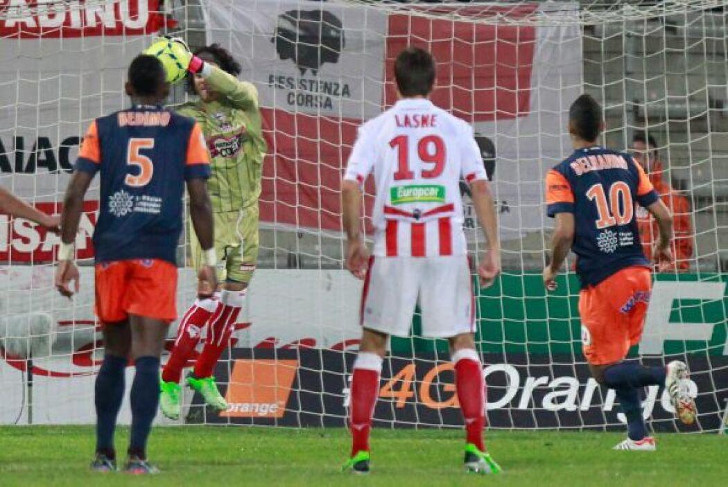 El portero tuvo un partido destacado en el sufrido trunfo de su club ant...