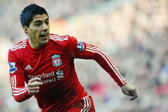 El uruguayo Luis Suárez fue de lo mejor de los 'Reds', estuvo muy cerca...