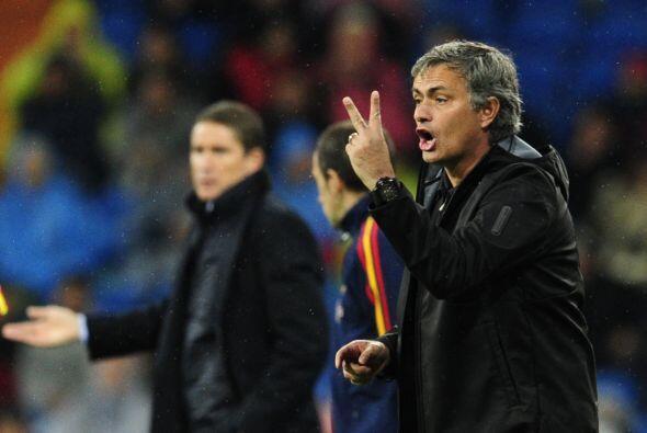 José Mourinho respondía pidiendo la máxima concentr...