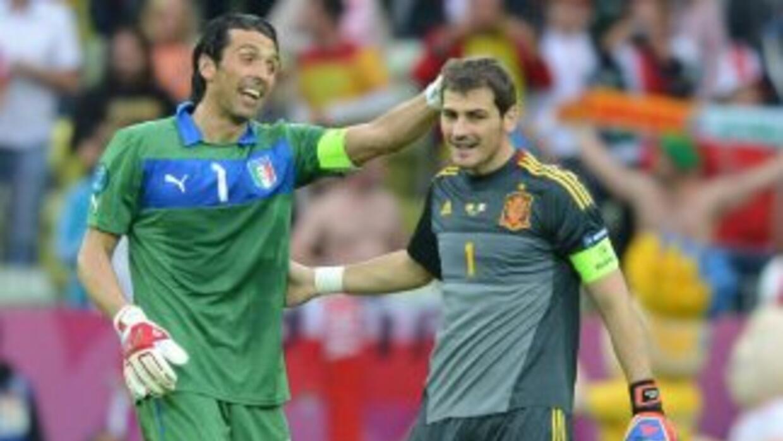El portero italiano siempre ha mostrado su respeto por Casillas.