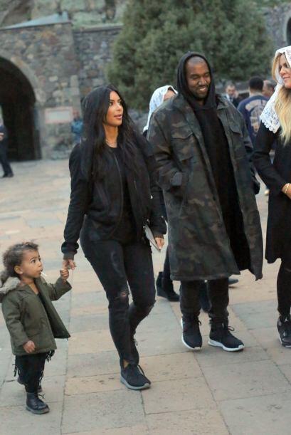 Los Kardashian estuvieron una semana en Armenia.