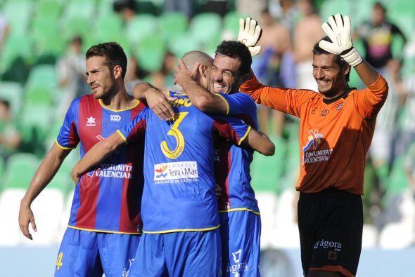 Y así fue, ganaron por 1-0 y son líderes junto con Barcelo...