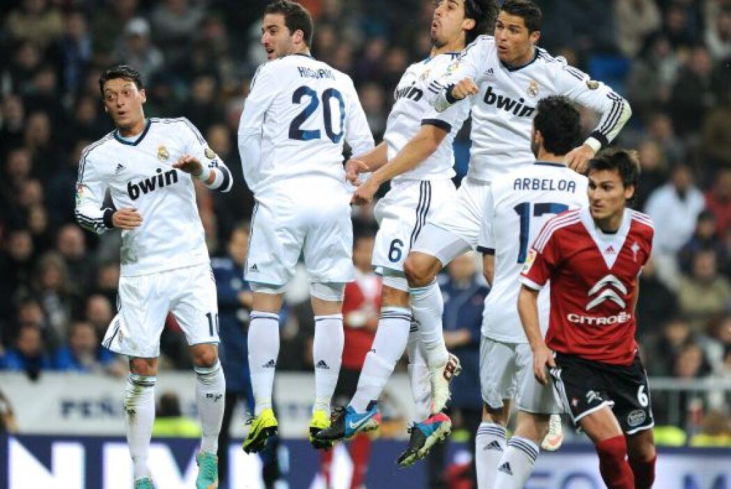El Madrid se vio superado por varios pasajes por el Celta.