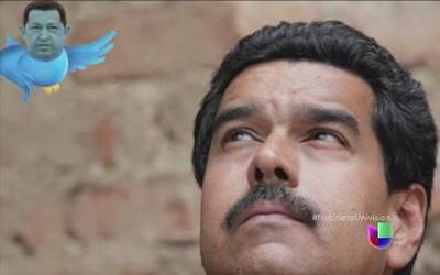 Nicolas Maduro sigue hablando con pajaritos