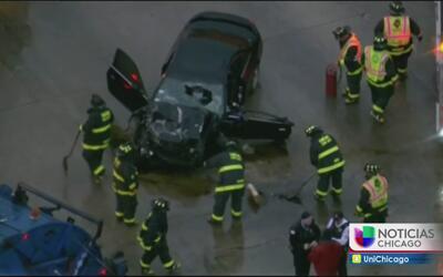 Grave accidente al suroeste de Chicago deja a una persona muerta