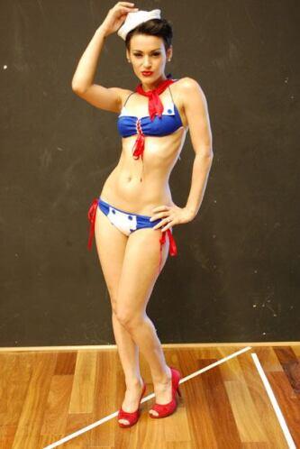 Sally Ferreira es actriz, modelo y bailarina profesional... y en sus tie...