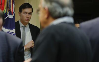 Jared Kushner, yerno del presidente Donald Trump y asesor del mandatario...